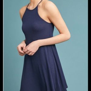 Ribbed Halter Dress. New!